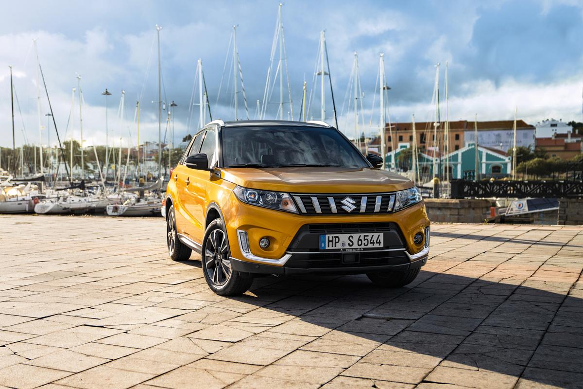 Suzuki Vitara Modelljahr 2019 - Copyright Suzuki