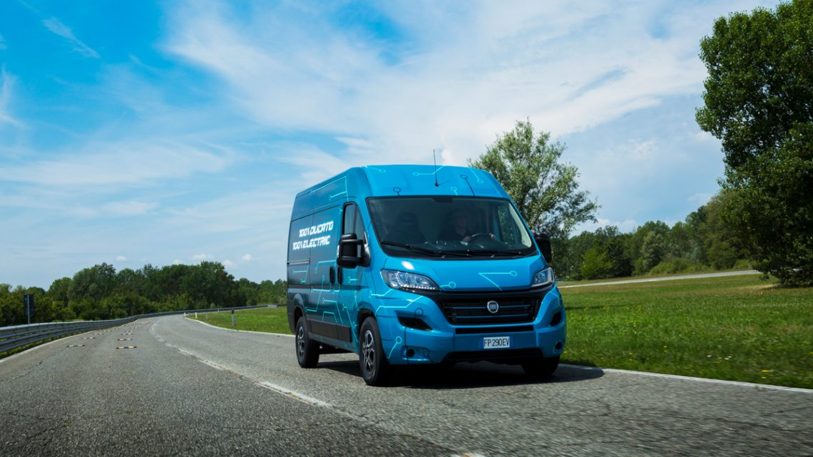 Fiat Ducato Electric Prototyp - Copyright Fiat