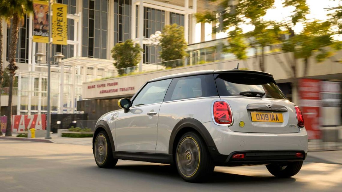 Mini Cooper SE - Copyright BMW Mini