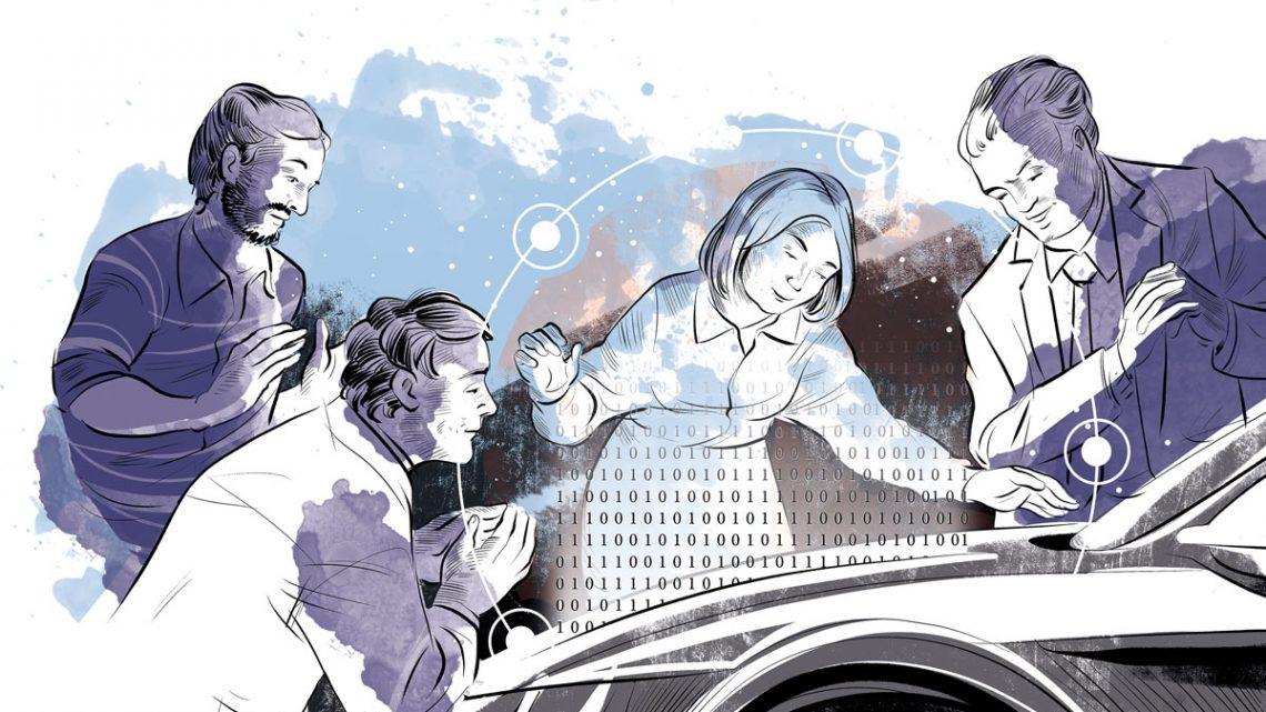 Illustration aus dem Buch »The In.Car.Nation Code – Wie der digitale Wandel in der Mobilitätsindustrie gelingt« von Dr. Engelbert Wimmer - Copyright e&Co. AG