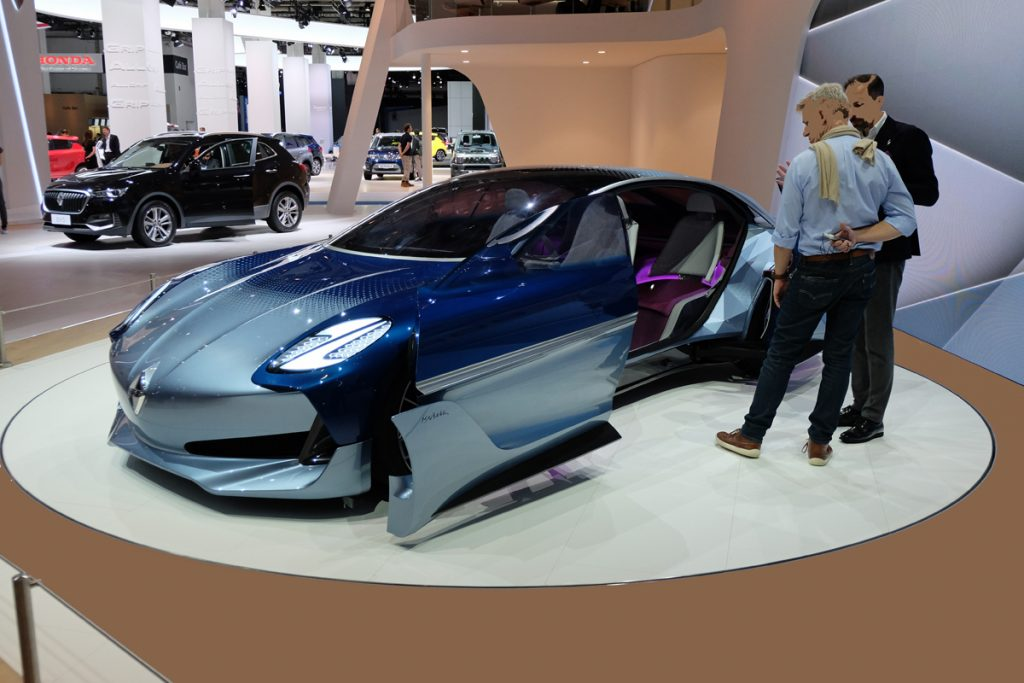 Borgward Concept IAA 2017