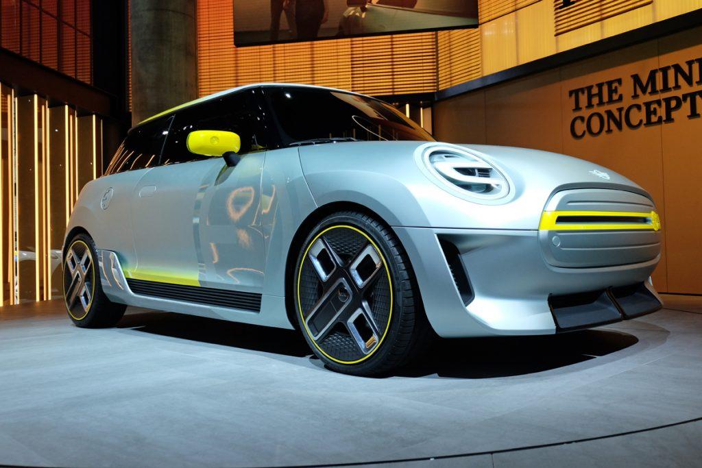 BMW Mini Concept SE IAA 2017