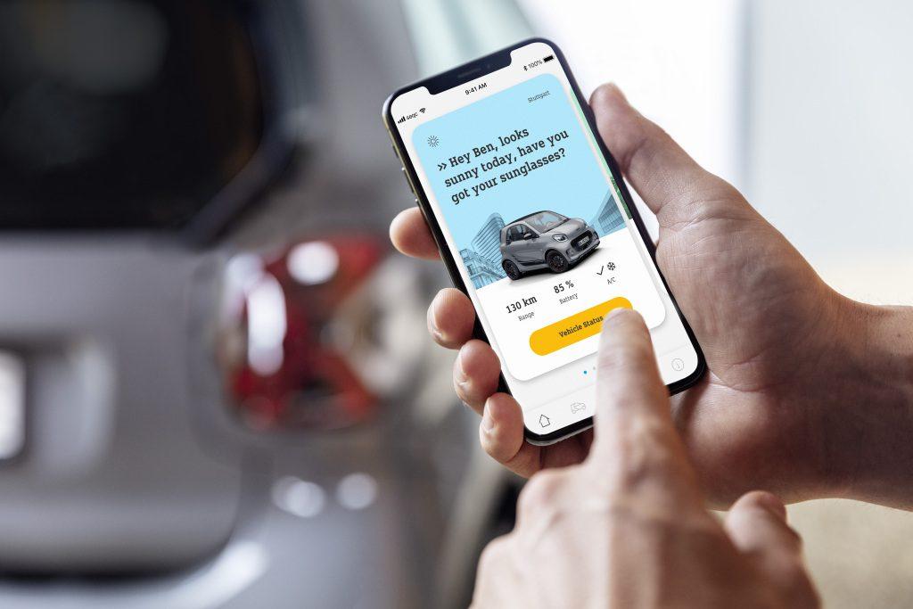 Die neue Generation: smart EQ fortwo coupéThe new generation: smart EQ fortwo coupé - Copyright Mercedes_Benz/smart