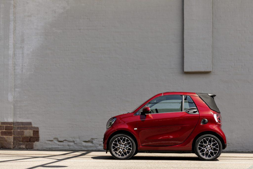 Die neue Generation: smart EQ fortwo cabrioThe new generation: smart EQ fortwo cabrio - Copyright Merdedes-Benz/smart