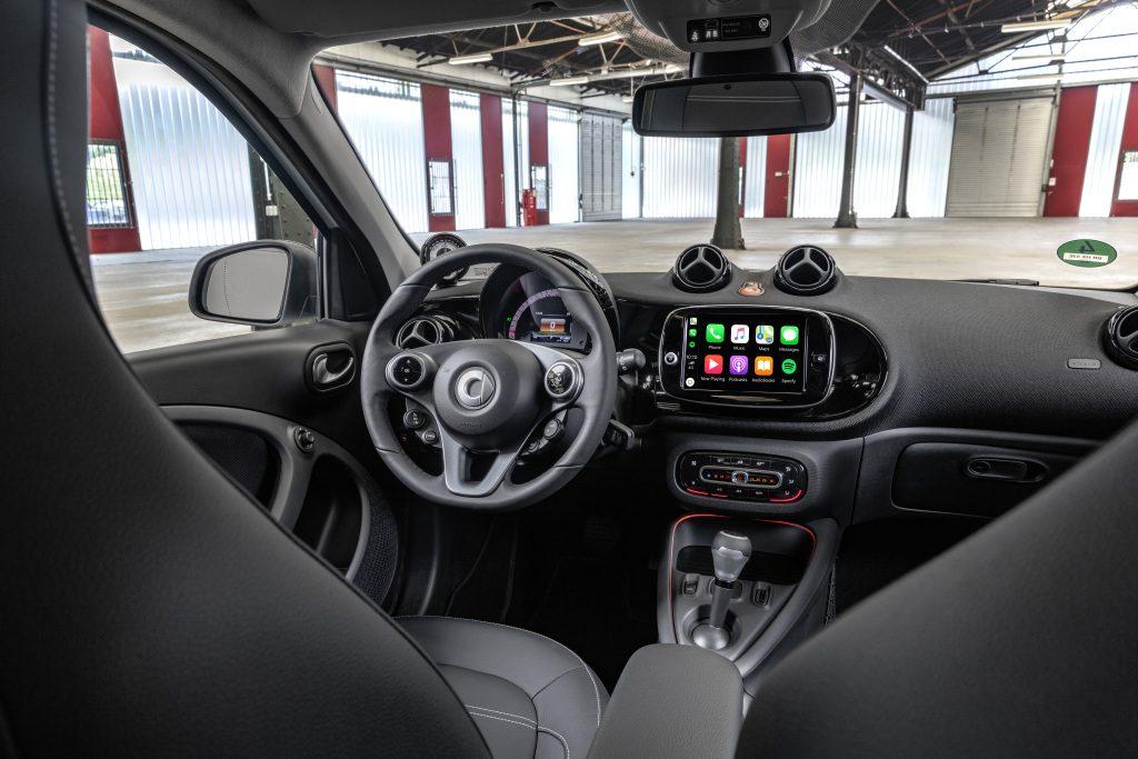 Die neue Generation: smart EQ forfourThe new generation: smart EQ forfour - Copyright Mercedes-Benz/smart