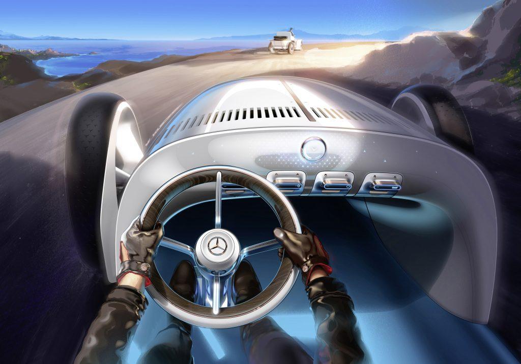 Vision Mercedes Simplex - Copyright Mercedes-Benz