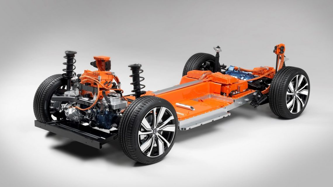 Der Volvo XC40 bekommt einen vollelektrischen Ableger - Copyright Volvo Cars