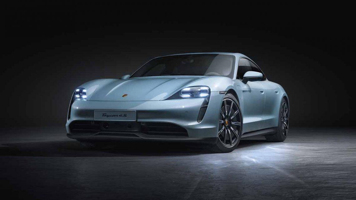 Porsche Taycan 4S - Copyright Porsche