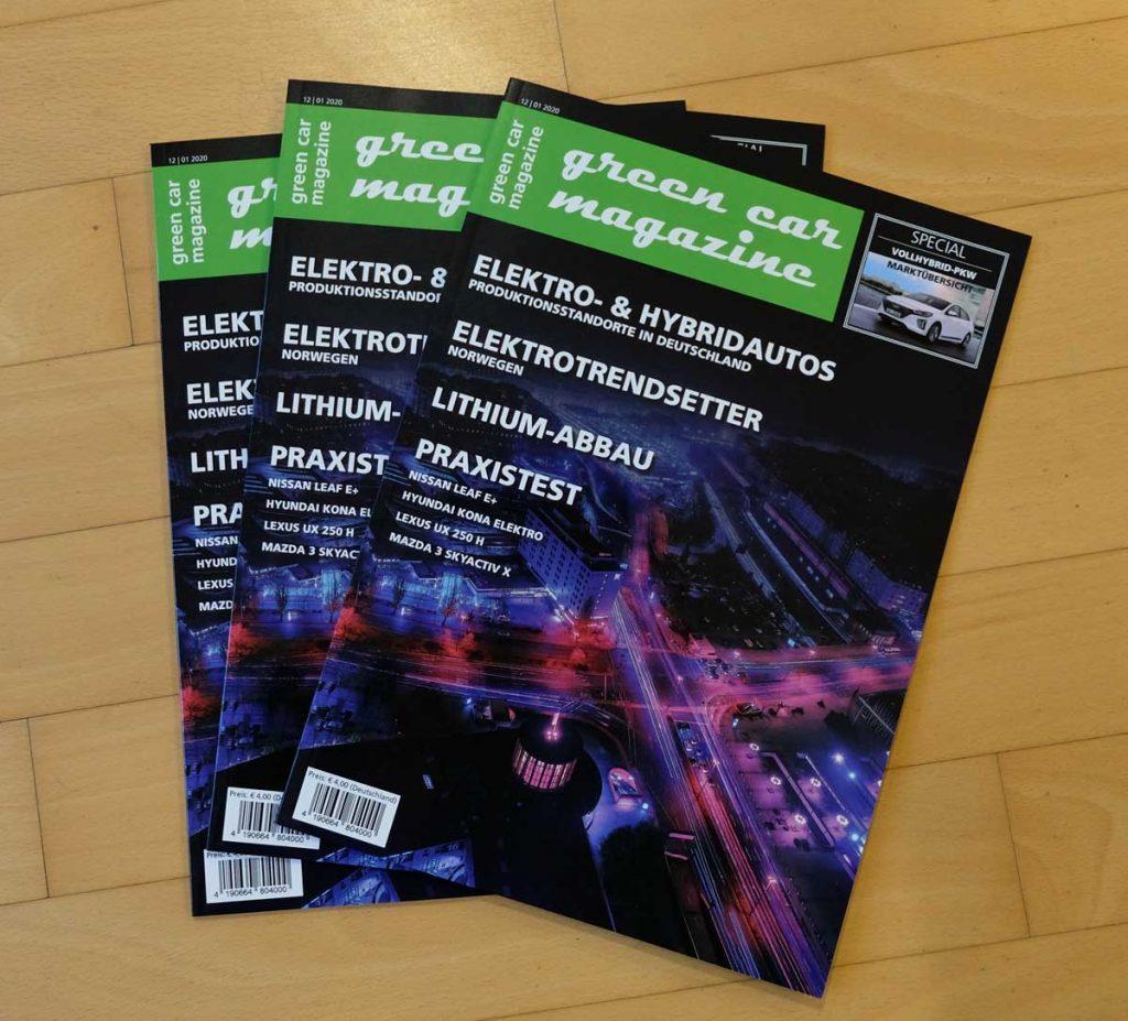 Winterausgabe 2019/2020 green car magazine