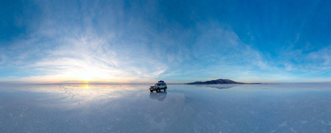 Lithium Vorkommen im Salzsee Salar de Uyuni - ©iferol - stock.adobe.com