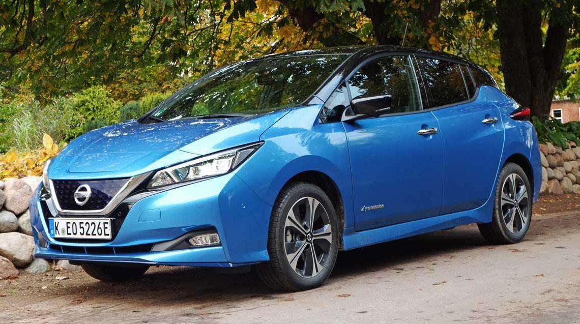 Nissan Leaf Modelljahr 2020