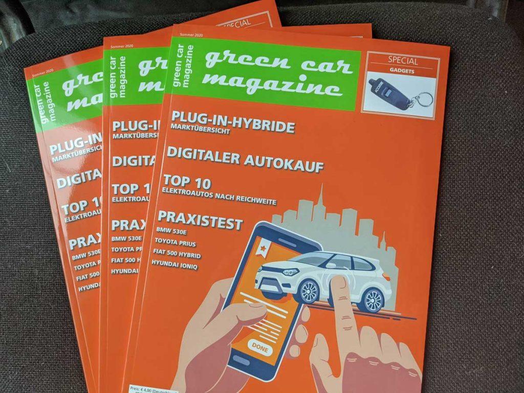 green car magazine Sommerausgabe 2020