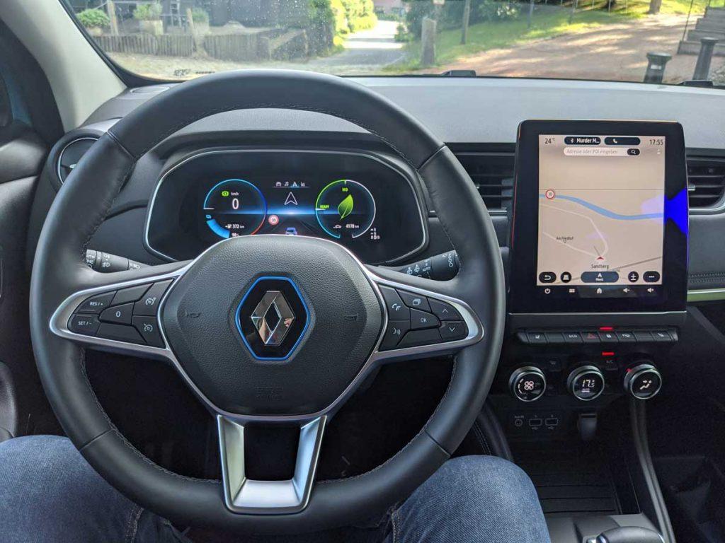 Renault Zoe R 135 Cockpit Modelljahr 2021