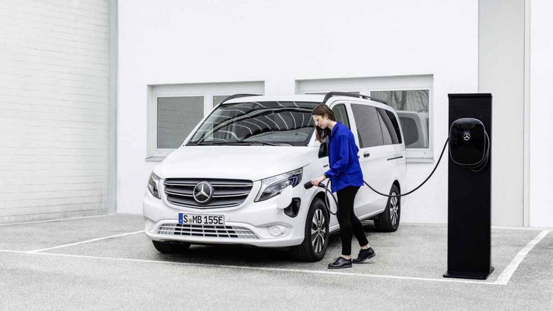 Der neue eVito Tourer von Mercedes-Benz Vans - Copyright Mercedes-Benz
