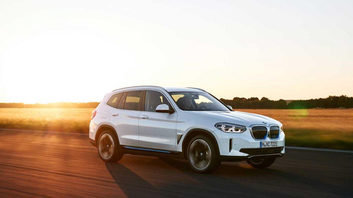 BMW iX3 - Copyright BMW
