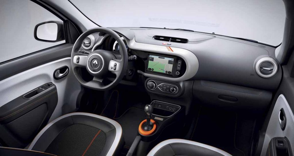 Twingo Z.E. - Copyright Renault