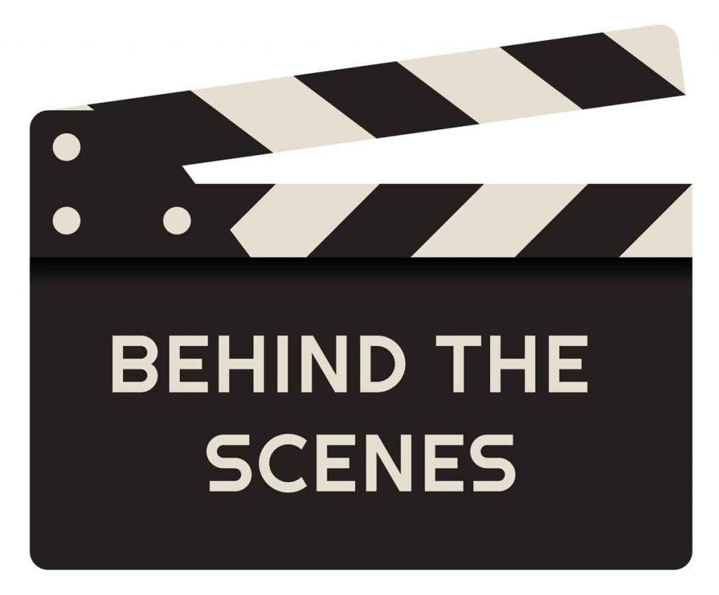 #behindthescenes - Copyright ©Pavel - stock.adobe.com