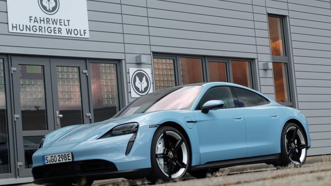 Testfahrt Porsche Taycan 4S