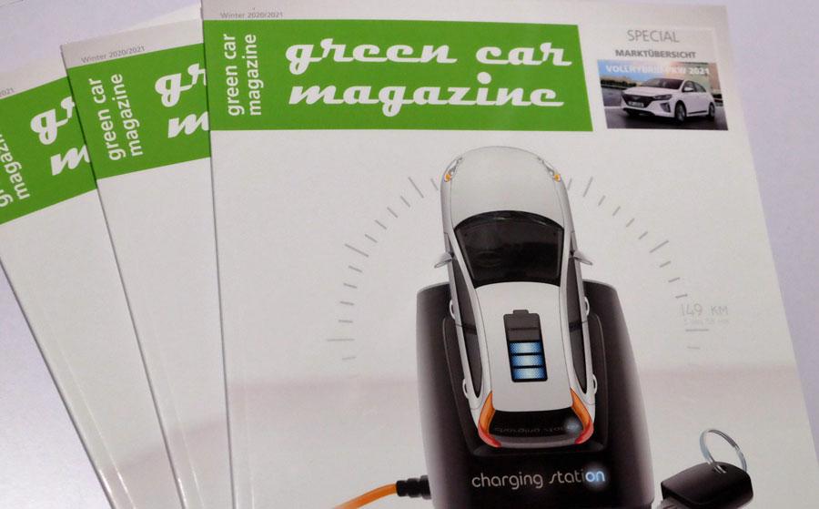 green car magazine Ausgabe Winter 2020/2021