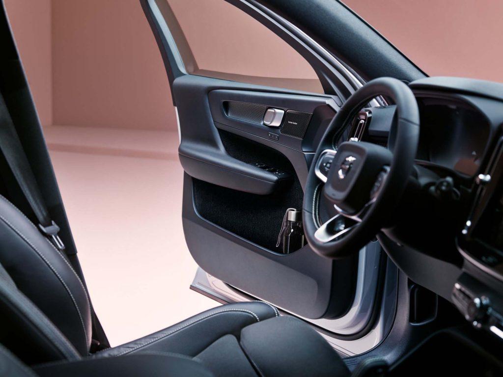 Einstieg Volvo XC40 Recharge Pure Electric - Copyright Volvo