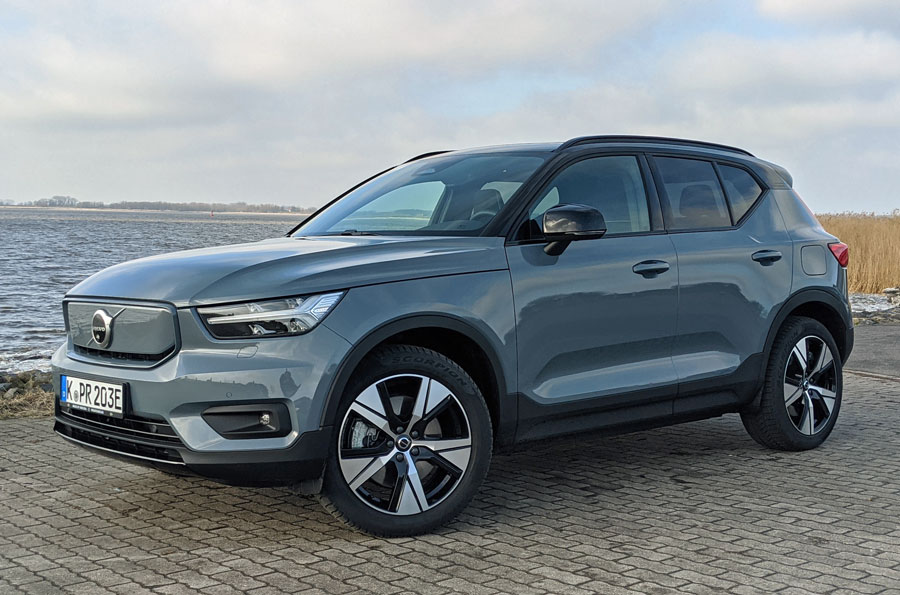 Markanter Kühlergrill XC40 Recharge Pure Electric