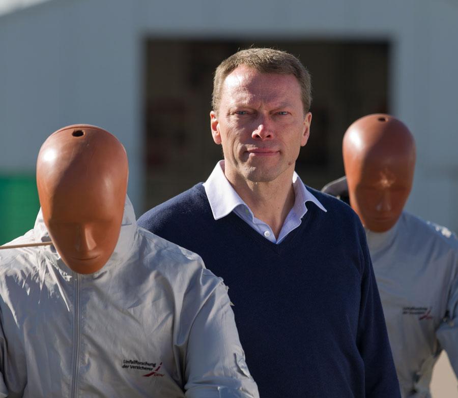 Siegfried Brockmann, Leiter der Unfallforschung der Versicherer (UDV) / Copyright UDV