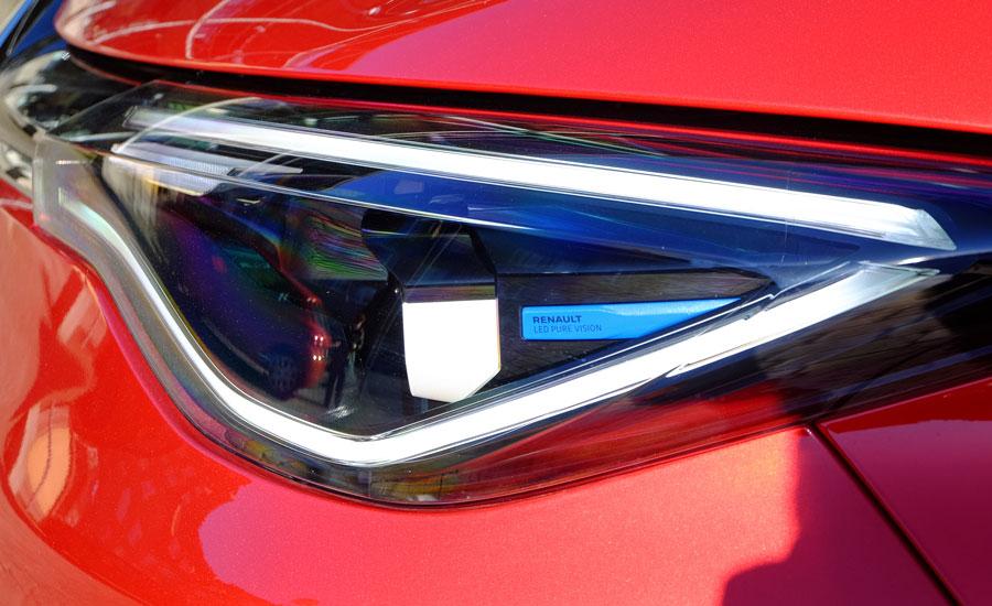 Renault Zoe Intens 2021 LED Scheinwerfer