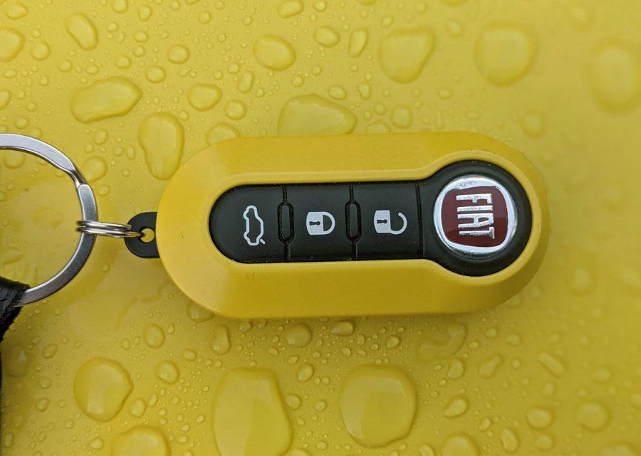 Fiat Panda Schlüssel