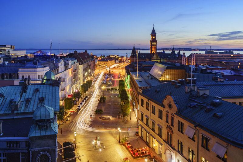 Helsingborg Ausblick -  Copyrght Kit Leong fotolia