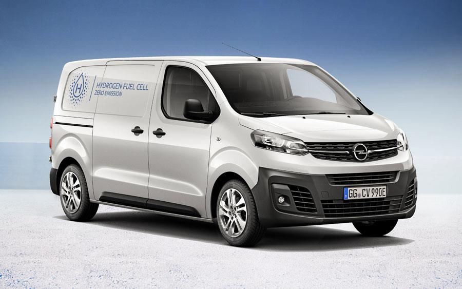 Vivaro-e HYDROGEN - Copyright Opel