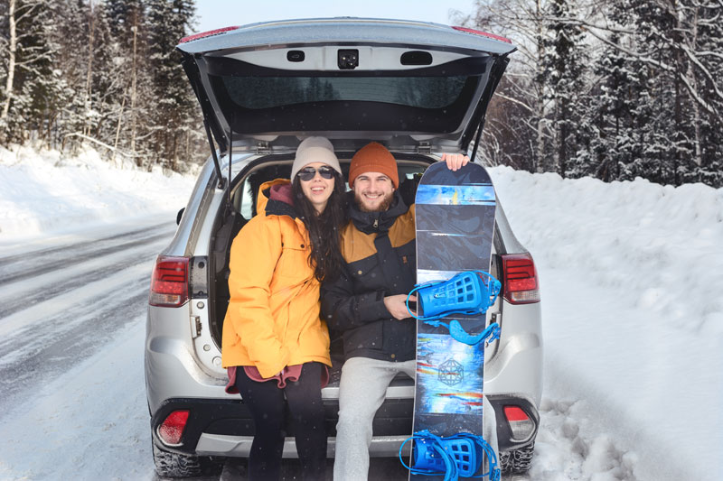Norwegen Snowboard Fans - ©Galina_lya - stock.adobe.com