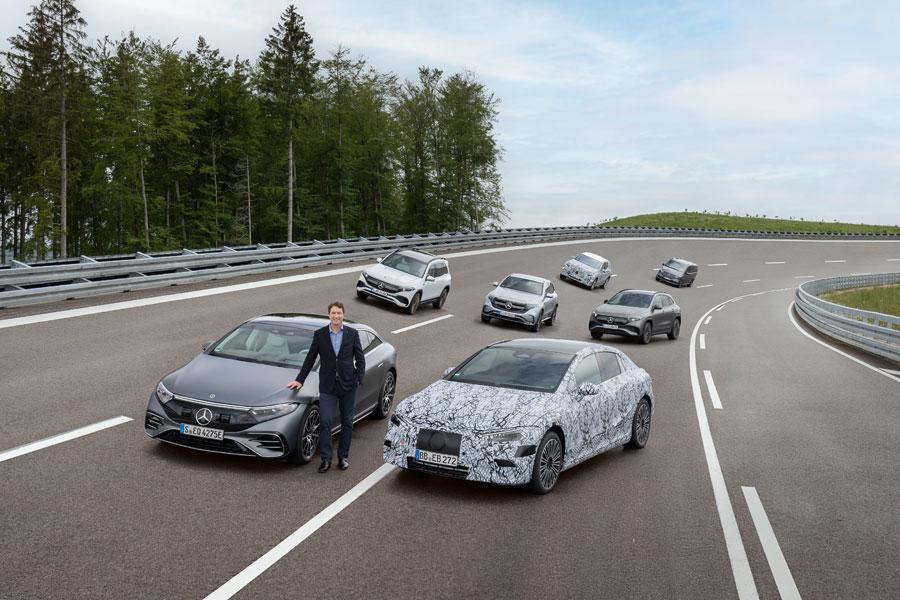 Mercedes-EQ Family Immendingen 2021; Ola Källenius, Vorstandsvorsitzender der Daimler AG und der Mercedes-Benz AG - Copyright Mercedes