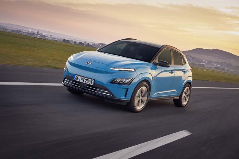 Hyundai Kona Elektro Facelift 2021 - Copyright Hyundai