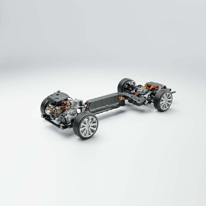 Volvo Recharge Modelle mit Plug-in-Hybridantrieb - Copyright Volvo