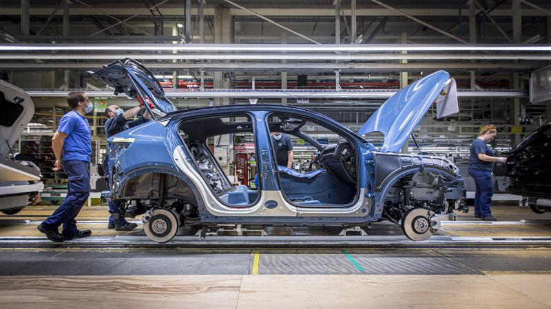 Volvo C40 Produktionsstart in Gent - Copyright Volvo