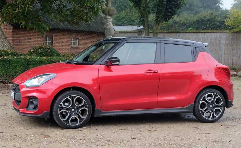 Suzuki Swift Sport 1.4 BOOSTERJET HYBRID Modelljahr 2022